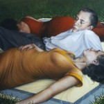 1997    'Afternoon Approaches'     40''  x  48''