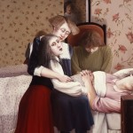 1985      'Death of the Mother'      74''  x 50''