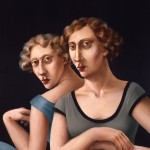 1986.8     'The Twins- 8'     30'' x  24''