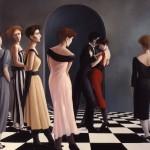 1987   'Vigil of the Dance  #1'  50''  x  40''