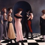 1987     'Vigil of the Dance #1'   (smaller version)   50'' x  40''