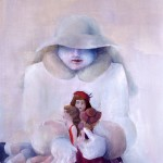 1979 'Girl With Dolls'     38''  x   20''