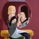 1993    'Regarding Herself in the Glass'    24''  x  19''