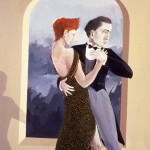1988.4 'They Dance #4'        24''  x  19''