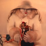 1979  'Girl with Dolls  #2'    36''  x  24''