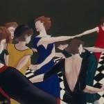 1988  'Women-The Dance'  19''  x  24''