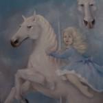 1978.1   'Girl on a Horse'  54''  x  42''