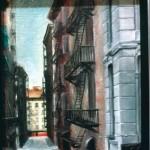 1978  Cortlandt Alley'   10''  x  8''