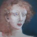 1984 ''Woman in White Dress'  (closeup)