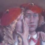 1980.2 'School Girls-A'   (closeup)