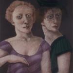 1985  'Twins -12  26''  x  19''  pastel