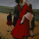 """1993 ' On The Road Home'  74""""  X  50"""""""
