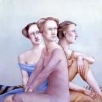 'Mythology V'        51''   x   47''       1983     Oil