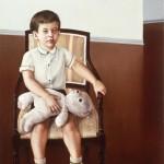 'Portrait of Ian'      59'' x  37''      1983  Oil