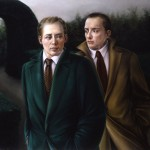 'Other Words, a Different Place'      40''  x  50''       1997  Oil