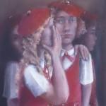 1979  'School Girls-A'   24''  x  19'' pastel