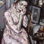 4.2   'Portrait of a Woman Dressing''  1980   24'' x   19'' pastel