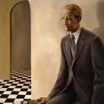 'As He Is'         50'' x  40'' 2006  Oil