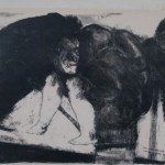 Cuevas   Lithograph   'This however was my first contact with insanity'