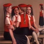 'School Girls     '   40''  x  50''    1982  Oil