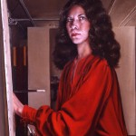 'Self Portrait in Studio'                 36'' x 24''  1981