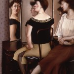 'Mother and Daughter'      74''  x  50''     1985  Oil